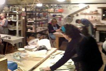 Les ateliers ceramique et dessin recommencent chez …